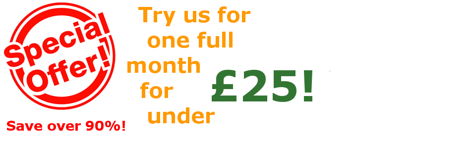 Special Offer – One Full Months SEO for Under £25!